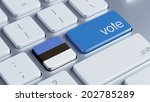 estonia high resolution vote... | Shutterstock . vector #202785289