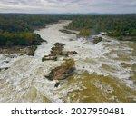 Khon Phapheng Waterfalls In Laos