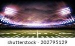 stadium american | Shutterstock . vector #202795129