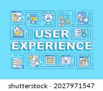 user experience word concepts... | Shutterstock .eps vector #2027971547