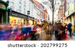 28th december 2013. view along... | Shutterstock . vector #202799275