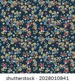 vector seamless pattern. pretty ... | Shutterstock .eps vector #2028010841