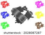 hof district  federal republic... | Shutterstock .eps vector #2028087287
