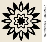 abstract floral ornament   Shutterstock .eps vector #20282827