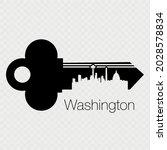 vector illustration of a key...   Shutterstock .eps vector #2028578834