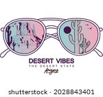 desert sunglass gradient  t...   Shutterstock .eps vector #2028843401