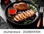 Roasted Duck Breast Served With ...