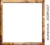 picture frame in stone texture... | Shutterstock . vector #202891327