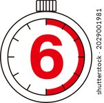 electronic digital stopwatch....   Shutterstock .eps vector #2029001981