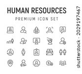premium pack of human resources ...