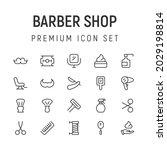 premium pack of barber shop...