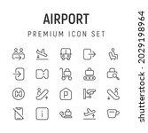premium pack of airport line...