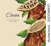 colorful vintage banner... | Shutterstock .eps vector #2029288937