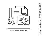 business information linear... | Shutterstock .eps vector #2029294907