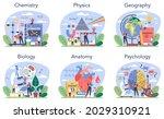 natural school subject or... | Shutterstock .eps vector #2029310921
