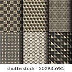 modern style geometric pattern