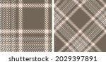 seamless plaid pattern...   Shutterstock .eps vector #2029397891