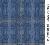 classic tartan colored cage....   Shutterstock .eps vector #2029397897