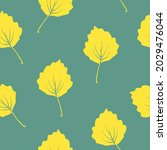 seamless pattern with autumn... | Shutterstock .eps vector #2029476044