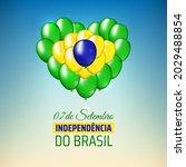 7 september  brazil... | Shutterstock .eps vector #2029488854