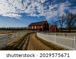Photo Of Battlefield Barns...