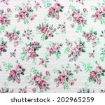 abstract floral pattern | Shutterstock . vector #202965259