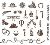 vector icons of classical...   Shutterstock .eps vector #202965301