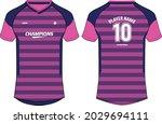 sports jersey t shirt design... | Shutterstock .eps vector #2029694111