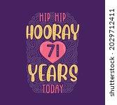 birthday anniversary event... | Shutterstock .eps vector #2029712411
