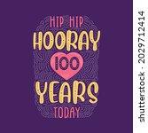 birthday anniversary event... | Shutterstock .eps vector #2029712414