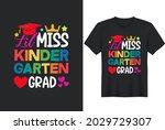 kids kindergarten graduation...   Shutterstock .eps vector #2029729307