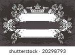 floral frame   Shutterstock .eps vector #20298793