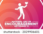national day of encouragement.... | Shutterstock .eps vector #2029906601