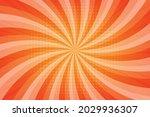 vector pop art yellow comics... | Shutterstock .eps vector #2029936307