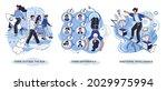 motivational creative metaphor... | Shutterstock .eps vector #2029975994
