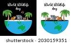 world wildlife day. happy... | Shutterstock .eps vector #2030159351