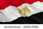 flag of egypt. | Shutterstock . vector #203019481