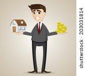 illustration of cartoon... | Shutterstock .eps vector #203031814