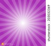 New Purple Rising Sun Or Sun...