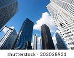 skyscrapers of shinjuku | Shutterstock . vector #203038921