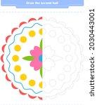 educational game for children....   Shutterstock .eps vector #2030443001