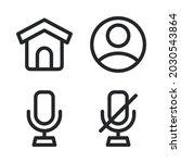 ui essential icons set   home ...