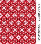seamless simple nordic xmas... | Shutterstock .eps vector #2030579471