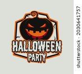 vintage halloween typography... | Shutterstock . vector #2030641757