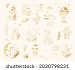 big mystical collection with... | Shutterstock .eps vector #2030798231