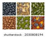 game ground seamless pattern...