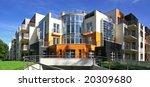 new modern apartments   Shutterstock . vector #20309680
