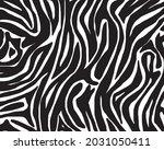 seamless pattern with zebra... | Shutterstock .eps vector #2031050411