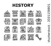history learn educational... | Shutterstock .eps vector #2031158801