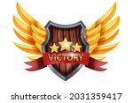 victory game badge icon  ui...